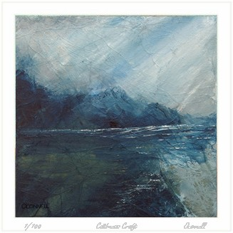 scottish contemporary imressionist abstract seascape art painting and prints