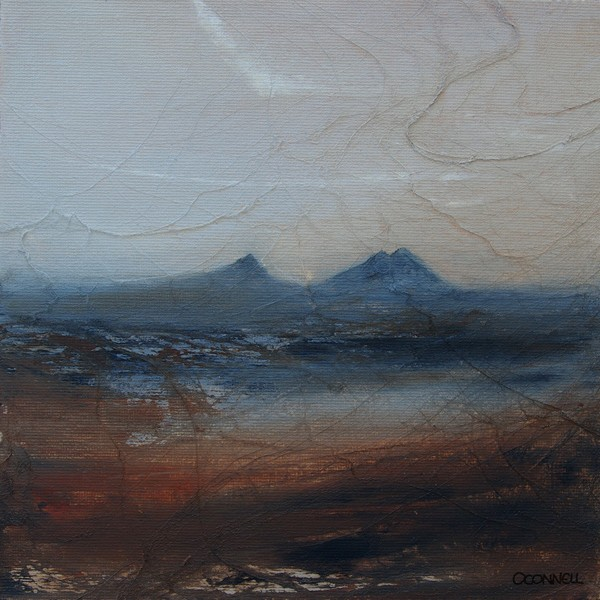 Caithness dawn contemporary scottish landscape paintings and prints