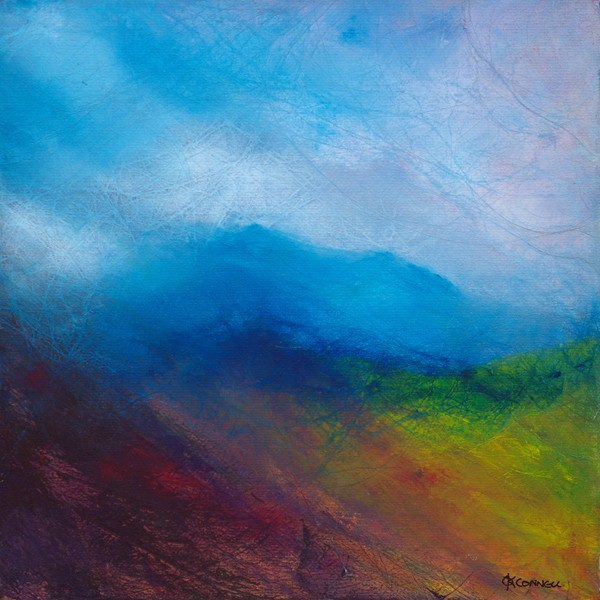 Bheinn a' Bhuird Cairngorms original landscape painting and giclee prints