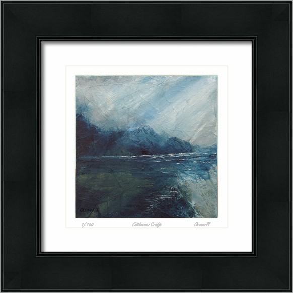contemporary impressionist abstract scottish seascape  paintings and prints