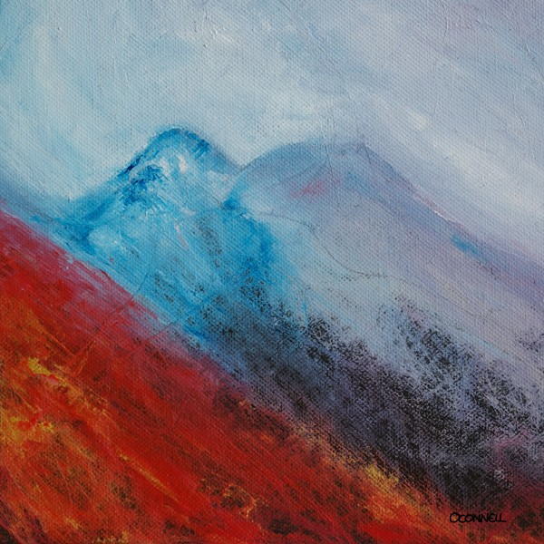 Achnashellach original scottish painting and print