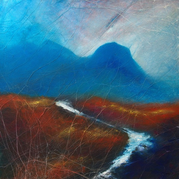 Autumn skye original scottish landscape painting
